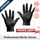 Black Nitrile Powder Free Disposable Gloves JEFFERSON 3-Pack