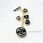 Beast B2st b2uty ALLOY PHONE STRAP with antidust plug KPOP NEW
