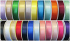 10mm BERISFORDS DOUBLE FACED SATIN RIBBON  30 COLOURS 1 to 20 Metres