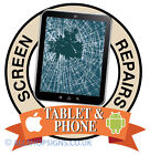 Tablet smart phone screen repair iPhone shop Sign Window sticker POS sign decal