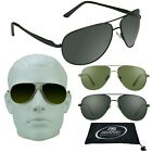 Aviator Big & Tall Sunglasses Extra Large Fit Wide Metal Fra