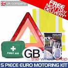 European Driving Kit - 5 Piece Kit Covers all of Western Europe Except France