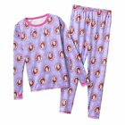 Cuddl Duds Girls Sophia the First Crew & Leggings Polyester Set NWT SIZE XS 4/5
