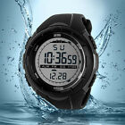 SKMEI 1025 Men Sports Watch 5ATM Dive Swim Climbing LED Digital Military Outdoor