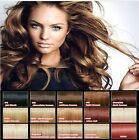 "18"" Human Hair Full Head Clip-In Hair Extensions All Colours"