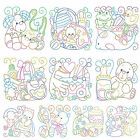 BABY BLOCKS * Machine Embroidery Patterns  * 10 Designs, 2 Sizes