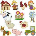 * On the Farm * Machine Applique Embroidery Patterns *12 Designs