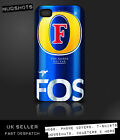 FOSTERS lager case for iPod iPhone 4 4S 5 5S 5C 6 / Samsung S2 S3 S4 S5 & mini