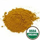 Turmeric Root Powder - Organic Certified - Kosher Certified - Pick Quantity