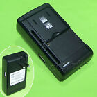 Universal External Desktop USB/AC Battery Charger for LG 450 Ting CellPhone