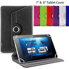 Tablet Case Cover iPad Mini Tab Universal 360� Rotate Stand 7 7.7 7.9 & 8
