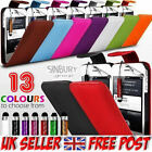 LUXURY LEATHER CASE + FREE STYLUS PEN + FREE POSTAGE ★ALL PHONE MODELS★