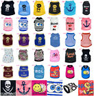 Free Shipping,30 Types Summer Pet Puppy Shirt Small Dog Pet Clothes Vest T Shirt