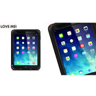 Waterproof Shockproof Aluminum Metal Gorilla Glass Case Cover For iPad Mini 1/2