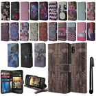 For HTC Desire 612 Flip Wallet LEATHER Skin POUCH Case Phone Cover + Pen