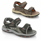 MENS DUNLOPS SPORTS VELCRO SANDALS FOOTBED CASUAL COMFORT HOLIDAY SHOES SIZE