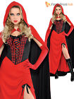 Adult Sexy Little Red Riding Hood Fancy Dress Costume Fairytale Ladies Womens