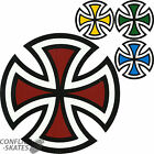 "INDEPENDENT TRUCK CO ""Cut Cross"" Skateboard Sticker Decal INDY Choose Colour"