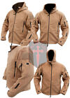 Coyote Tan Tactical Fleece Recon Hoodie ( All Sizes unisex military design