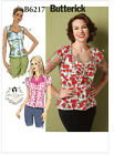 Butterick 6217 Patterns by Gertie 50s Vintage Style Blouse Top NEW Retro B6217