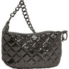 Whiting and Davis Quilted Mesh Hobo 3 Colors Evening Bag NEW