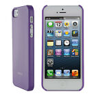 rooCASE Ultra Slim Gloss Shell Case for iPhone 5/5s Personal Electronic Case NEW