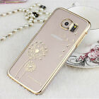 Cute Luxury Crystal Diamond Transparent Hard Case Cover F Samsung Galaxy S6 G920