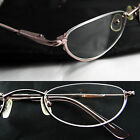 Topless Women Metal Reading glasses spring hinge Strength 1 1.25 1.5 1.75 2 PINK