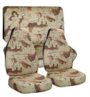 1948-2015 Ford F-150 Camouflage Seat Covers Canvas Front and Rear Choose color