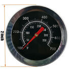 """2"""" BBQ Smoker Pit Grill Thermometer GAUGE Temp Barbecue Camp Camping Cook Food03"""