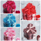 50 pcs ROSE SOAPS Hearts GIFT BOXES Wedding Party Favors Wholesale Discounted