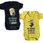 Cute One In A Minion Funny Baby Vest Grow Despicable Me Top Size Boys Girls New