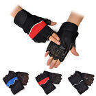 Workout Fittness Lifting Training Fingerless Gloves For Cycling Outdoor Sports