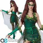 LETHAL BEAUTY HALLOWEEN FANCY DRESS COSTUME ADULT LADIES GREEN OUTFIT