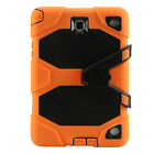 Rugged Stand PC+Silicone Protective Shell Cover Case for Samsung Galaxy Tablets