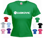 'DJOKOVIC' Novak Djokovic Wimbledon Tennis Funny Ladies/Girls T-shirt Tee