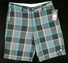 ELEMENT Mens Walk Shorts *Size:30 32 * BLUE Authentic Brand Skate Wear NEW