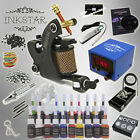 Complete Tattoo Kit Professional Inkstar 1 Machine VENTURE Set GUN 20 Ink