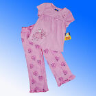 Girls Max & Ruby Embroidered Pyjamas Age 2 - 7 Years