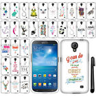 For Samsung Galaxy Mega 2 G750F Art Design PATTERN HARD Case Phone Cover + Pen