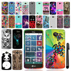 For LG Lancet VW820 TPU SILICONE Rubber SKIN Soft Case Phone Cover + Pen