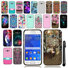 For Samsung Galaxy Ace 4 Lite G313ML TPU SILICONE Rubber Soft Case Cover + Pen
