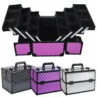 Large Storage Space Vanity Case Cosmetic Beauty Make Up Box Nail Jewelry Saloon