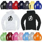 Superhero Avengers A Light Cotton Hooded Long sleeve tshirt Hoodie Hoody Top Tee