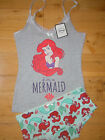 Primark Official Disney Ariel Little Mermaid Pyjama Set New Without Tags