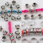 Creative 15/20/25Pcs Tibetan Silver Carved  Charm Loose Spacer Bead DIY Finding