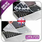 """Silicone UK / EU Keyboard Cover For Apple Macbook 13"""" 15"""" 17"""" Pro, 11.6"""" 13"""" Air"""