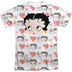 BETTY BOOP SYMBOL SUB Bold Licensed Front Sublimation Men's Tee Shirt SM-3XL