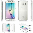 S2B Mask Front Clear Full Slim Cover Case For Samsung Galaxy /LG /Apple iPhone