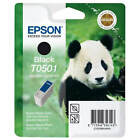 GENUINE EPSON T0501 PANDA SERIES BLACK PRINTER INK CARTRIDGE (C13T05014010)